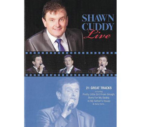 SHAWN CUDDY – LIVE DVD