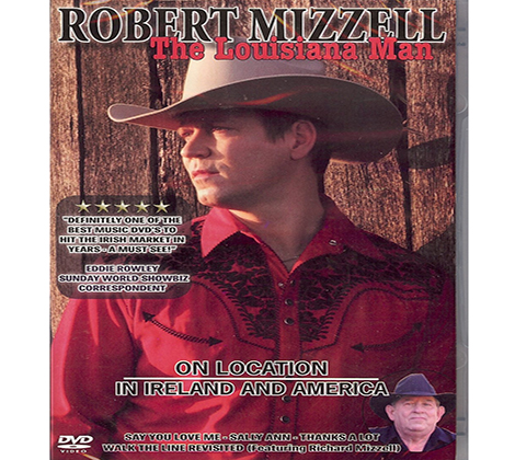 Robert Mizzell – The Louisiana Man (DVD)
