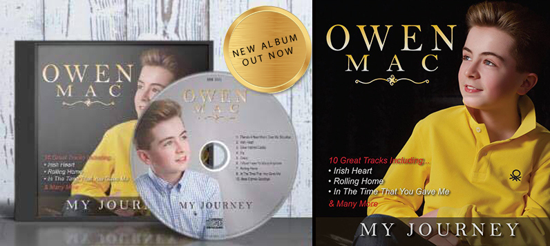 The New Album From Owen Mac - Out Now!!