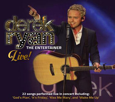 Derek Ryan – The Entertainer Live CD