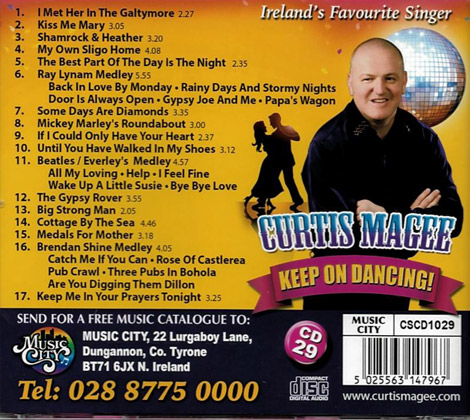 Curtis Magee Keep On Dancing
