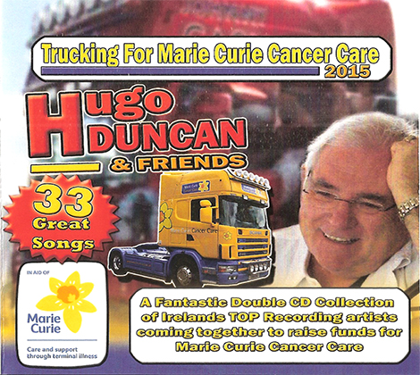 Hugo Duncan – Trucking For Marie Curie Cancer Care 2015