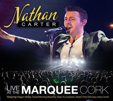 Nathan Carter – Live At The Marquee Cork (CD)
