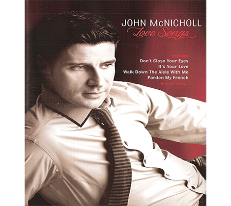 John McNicholl – Love Songs DVD