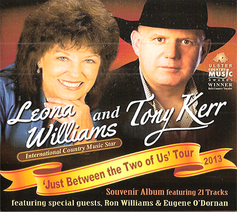 Leona Williams and Tony Kerr – Just Between The Two Of Us Tour