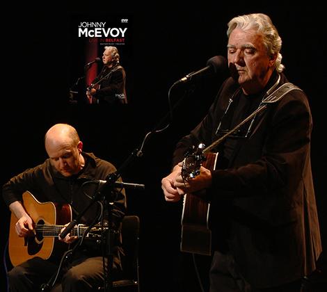 Johnny McEvoy – Live In Belfast DVD