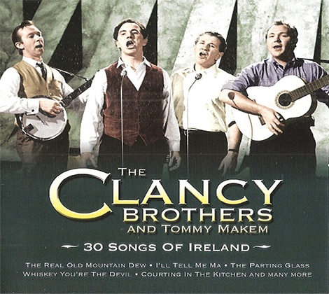 The Clancy Brothers – 30 Songs Of Ireland