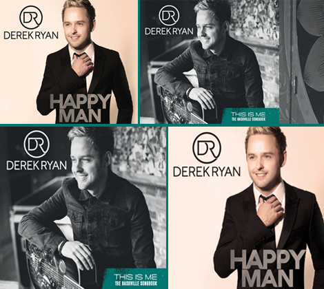 Derek Ryan Album Bundle