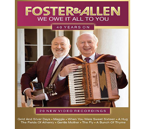 Foster and Allen dvds