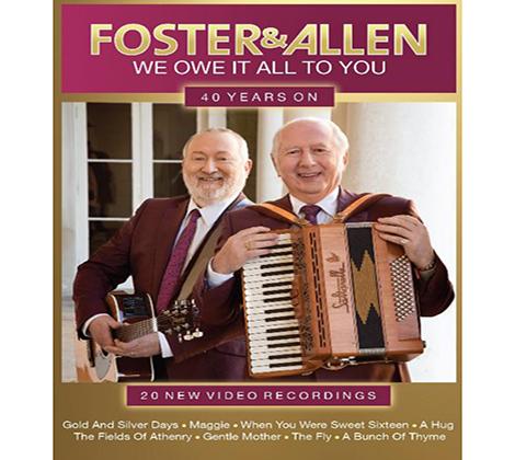 Foster and Allen dvds