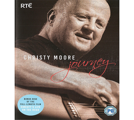 Christy Moore – Journey DVD
