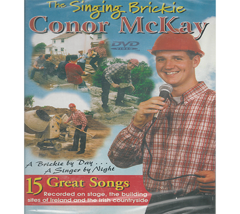 The Singing Brickie Conor McKay DVD's