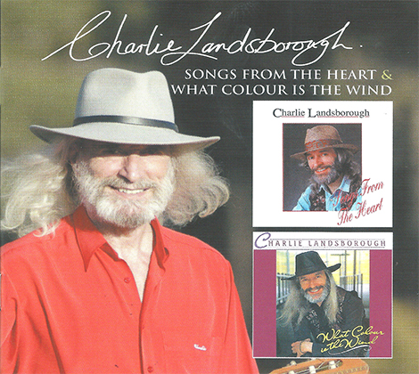 Charlie Landsborough – 2 CD Set Songs From The Heartland & What Colour Is The Wind