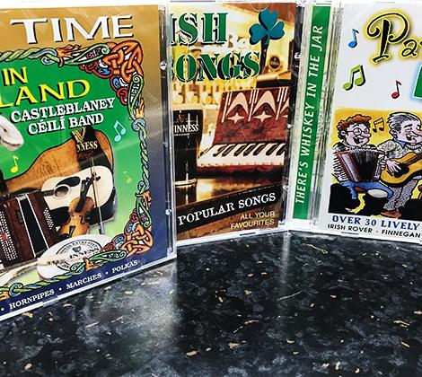 3 Irish CD Set – Ceili Time In Ireland / Party With The Irish / Irish Pub Songs