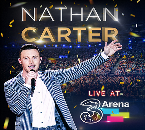 Nathan Carter – Live From The 3Arena (CD)