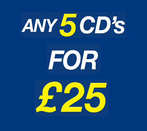 5 For £25
