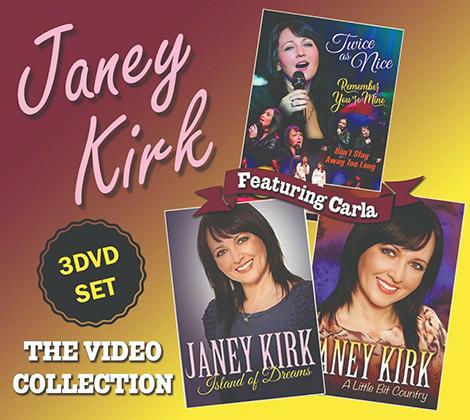 Janey Kirk DVD's